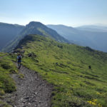guided trail running trip in Central Balkan
