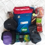equipment for a multi day trail running trip