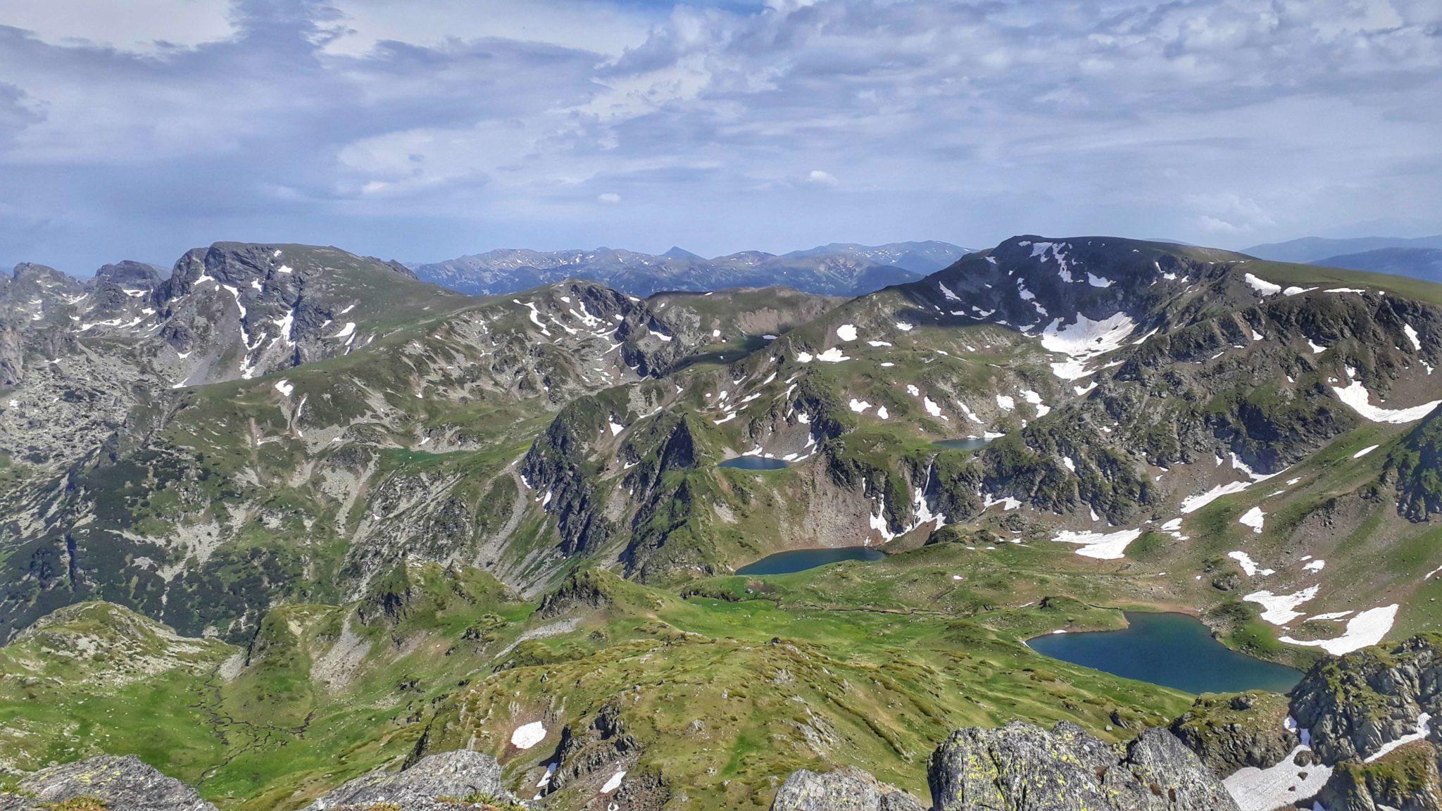 Rila National park in mid June