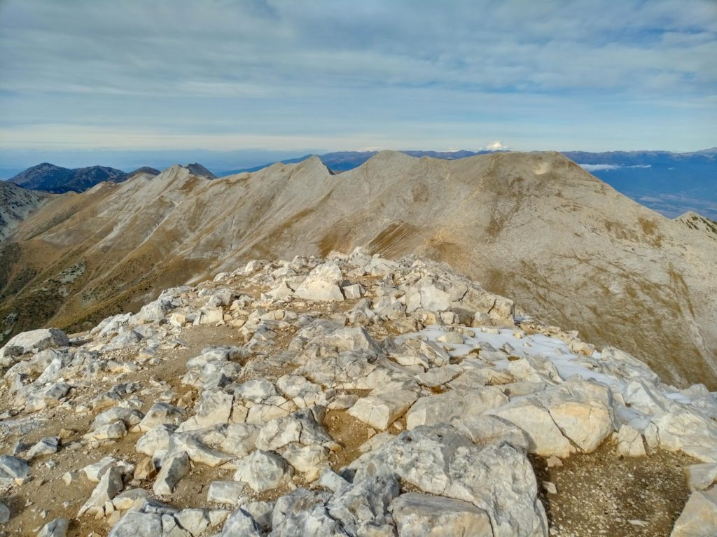 View from Vihren peak in Pirin
