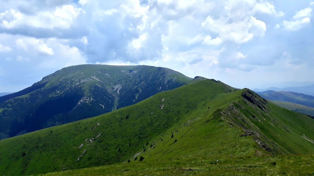 Vezhen peak (2198m) in Central Balkan