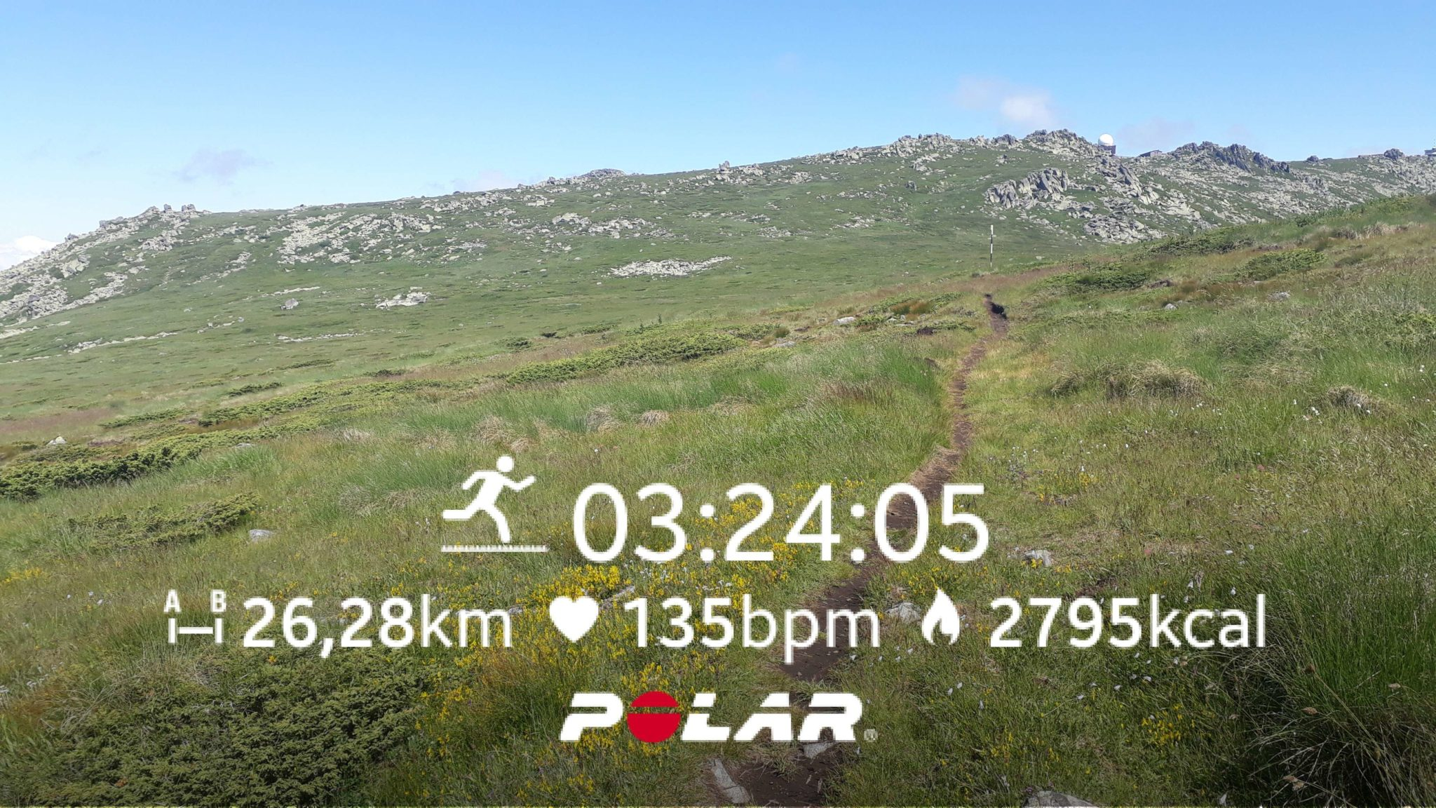 A typical trail running day at Vitosha mountain